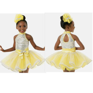 Weissman Lemon Sequin Dance Tutu XSC
